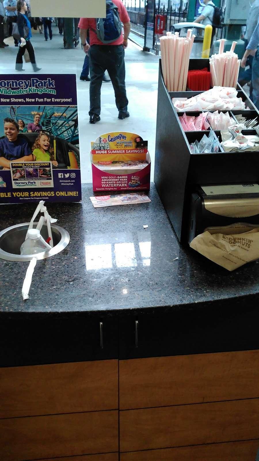 Dunkin - cafe  | Photo 5 of 10 | Address: 1 Hudson Pl, Hoboken, NJ 07030, USA | Phone: (201) 656-6061