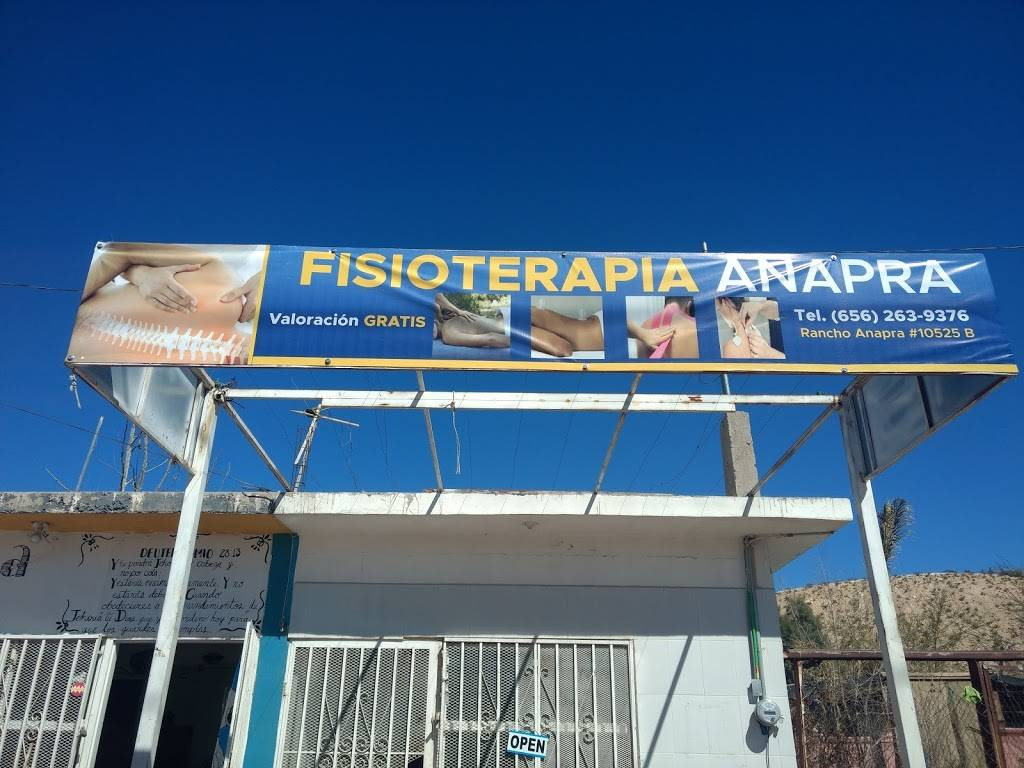 Fisioterapia Anapra - physiotherapist  | Photo 2 of 3 | Address: B, Rancho Anapra 10525, Puerto de Anapra, 32107 Cd Juárez, Chih., Mexico | Phone: 656 263 9376