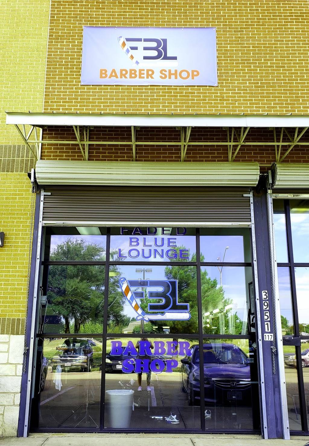 Faded Blue Lounge - hair care    Photo 3 of 10   Address: 3951 Sycamore School Rd Suite #115, Fort Worth, TX 76133, USA   Phone: (817) 975-5477