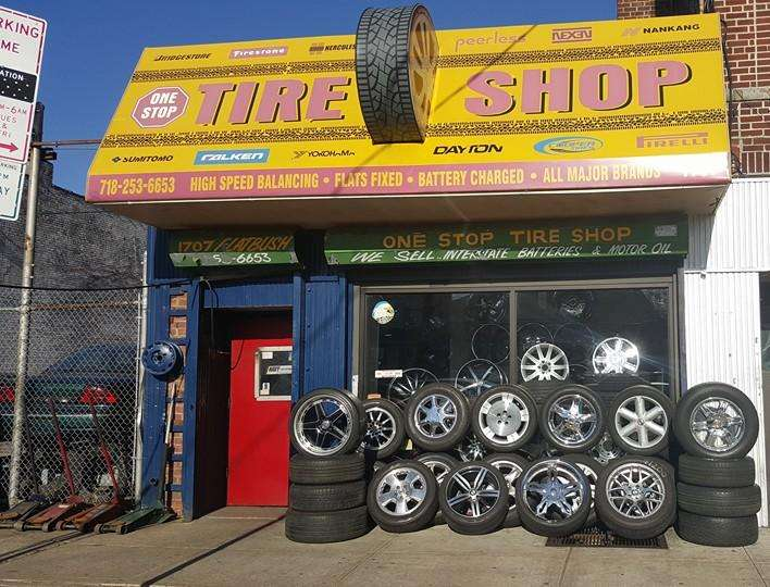 One Stop Tire Shop - car repair  | Photo 2 of 10 | Address: 1707 Flatbush Ave, Brooklyn, NY 11210, USA | Phone: (718) 253-6653