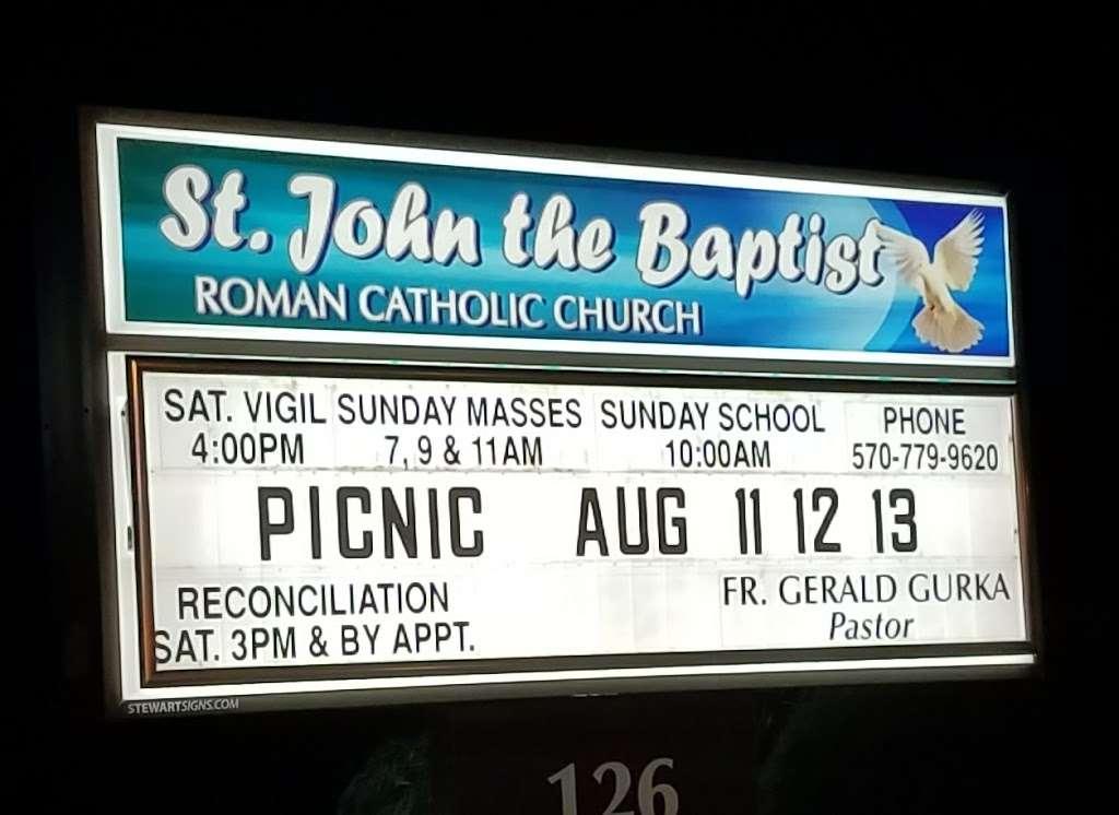 St. John The Baptist Church - church  | Photo 4 of 5 | Address: 126 Nesbitt St, Larksville, PA 18651, USA | Phone: (570) 779-9620