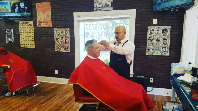 A Barbers Bar & Cafe - hair care    Photo 4 of 10   Address: 19801 S Main St #1, Cornelius, NC 28031, USA   Phone: (704) 997-5737
