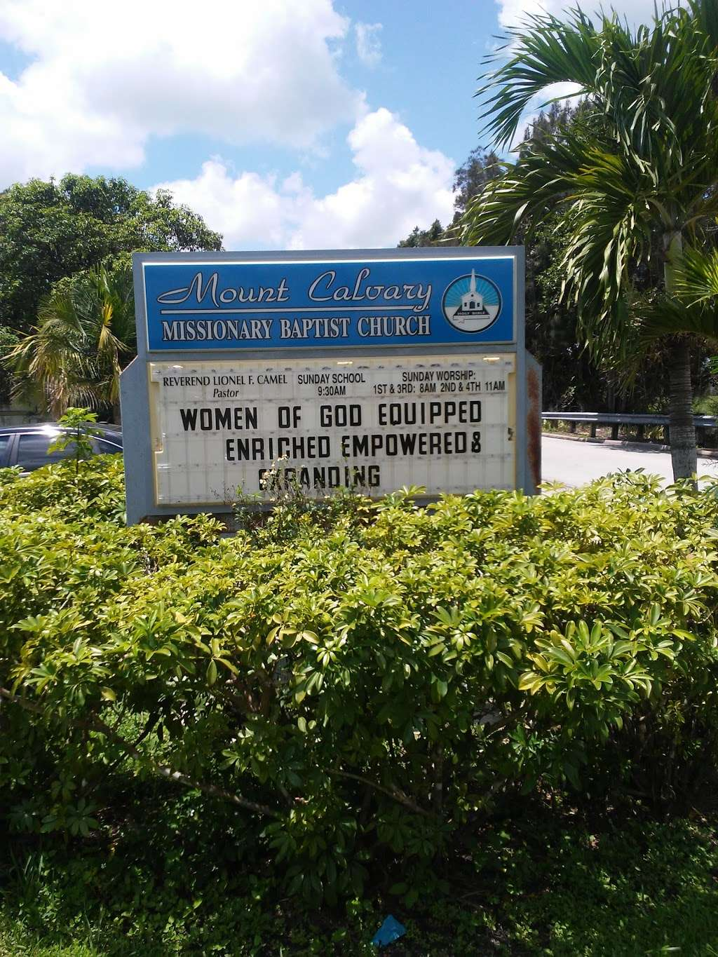 Mount Calvary Baptist Church - church  | Photo 1 of 2 | Address: 399 Canal St, Belle Glade, FL 33430, USA | Phone: (561) 996-8238