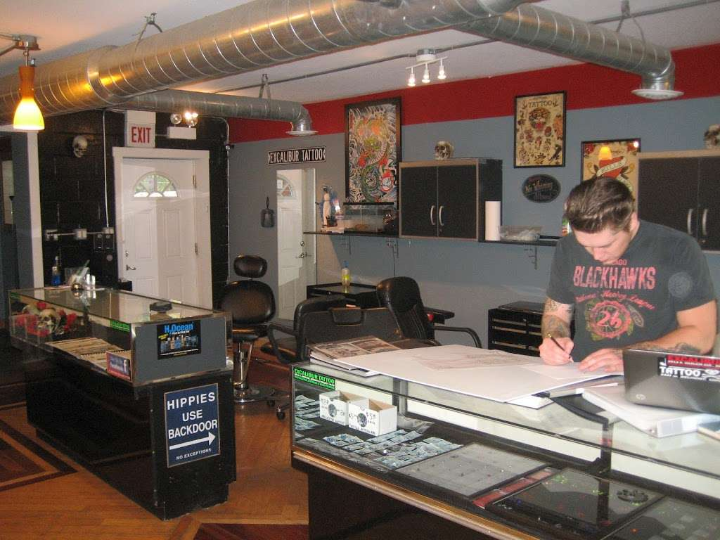 Excalibur Tattoo - store  | Photo 2 of 10 | Address: 2913 S Harlem Ave, Berwyn, IL 60402, USA | Phone: (708) 637-4146