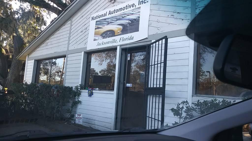 NATINAL AUTOMOTIVE INC - car dealer  | Photo 1 of 10 | Address: 6600 Blanding Blvd, Jacksonville, FL 32244, USA | Phone: (904) 778-4168