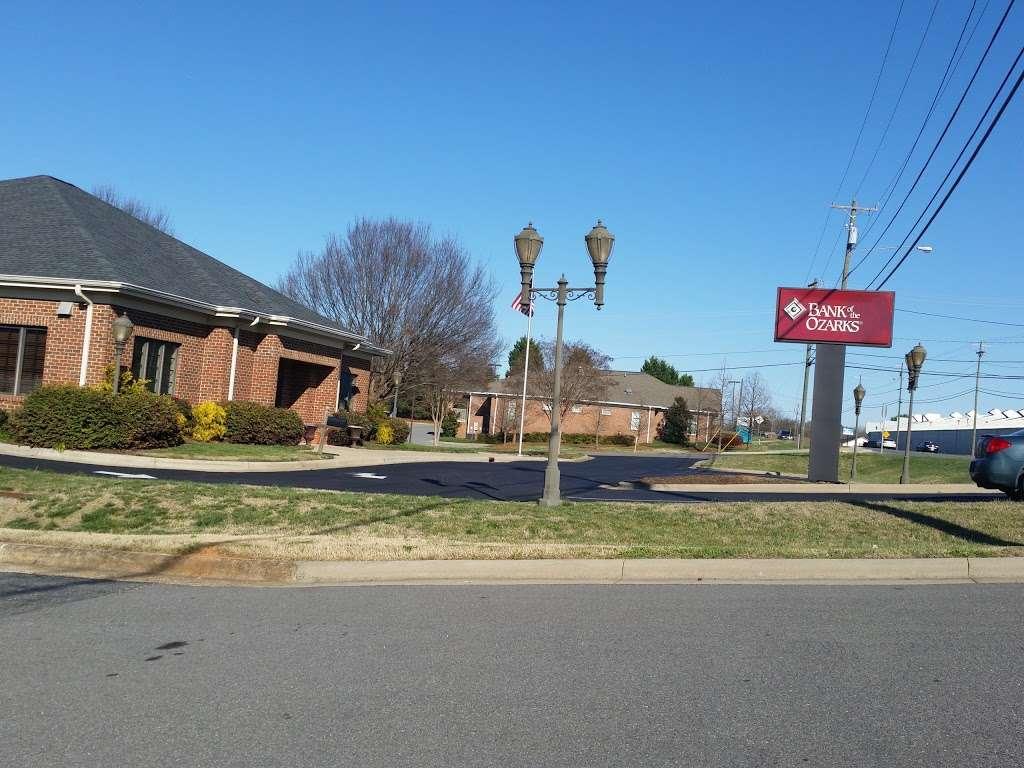 Bank OZK - bank  | Photo 1 of 3 | Address: 1225 Gastonia Hwy, Bessemer City, NC 28016, USA | Phone: (704) 629-3906