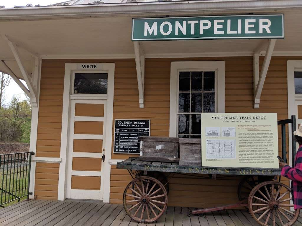 Historic Montpelier Railroad Depot ca. 1910 - museum  | Photo 2 of 10 | Address: 11350 Constitution Hwy, Montpelier Station, VA 22957, USA