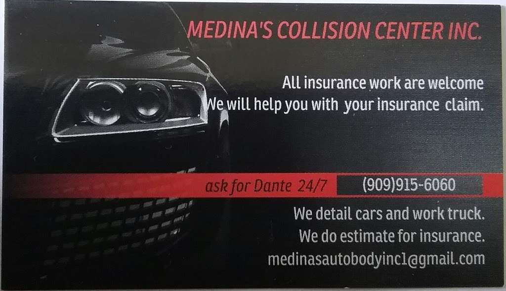 Medinas Collision Center Inc. - car repair  | Photo 9 of 9 | Address: 703 S Gifford Ave #220, San Bernardino, CA 92408, USA | Phone: (909) 915-6060