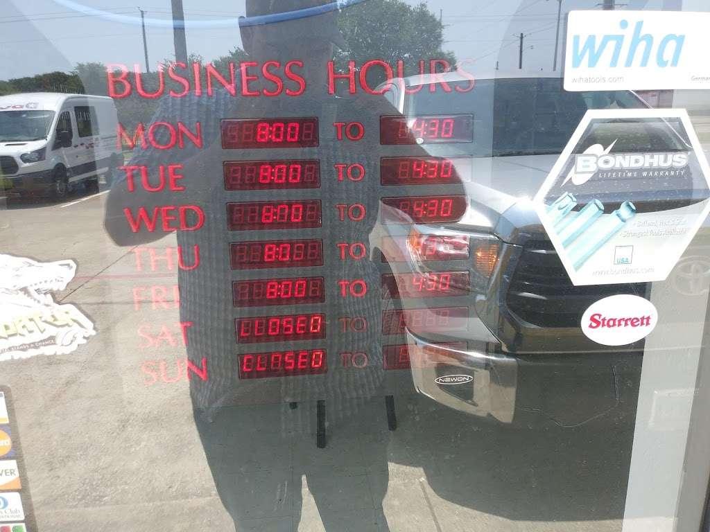 Denton Bolt Co/DBC - hardware store    Photo 1 of 1   Address: 2653 Forest Ln, Garland, TX 75042, USA   Phone: (972) 276-9972