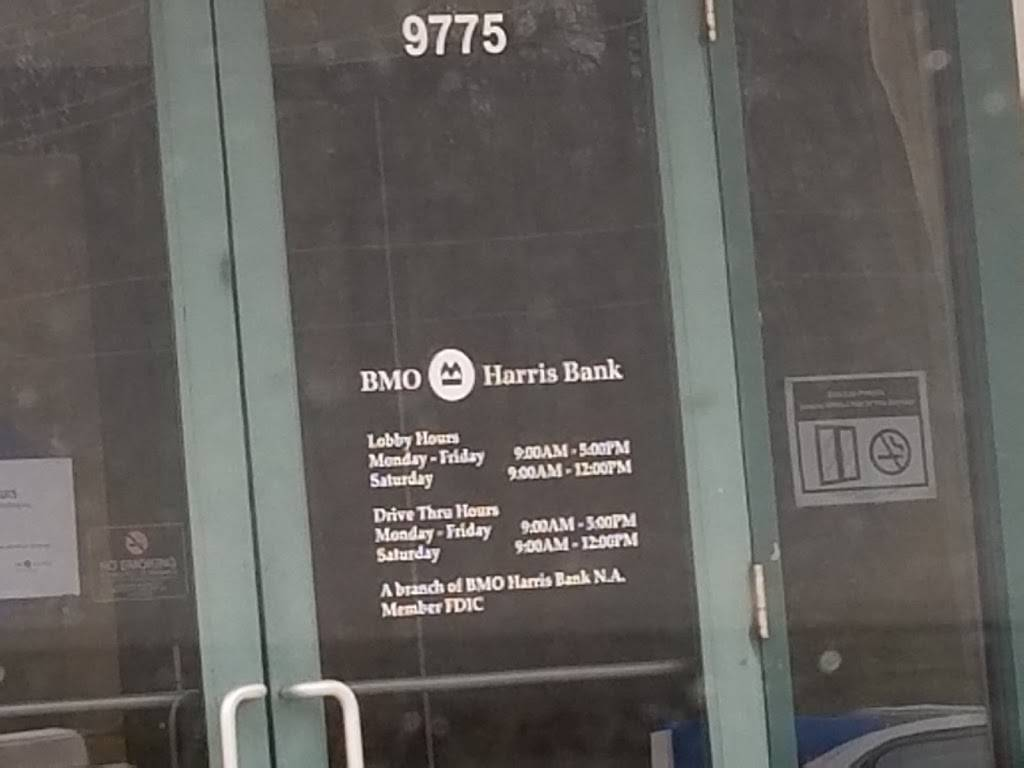 BMO Harris Bank - bank    Photo 4 of 4   Address: 9775 Fall Creek Rd, Indianapolis, IN 46256, USA   Phone: (317) 845-9619