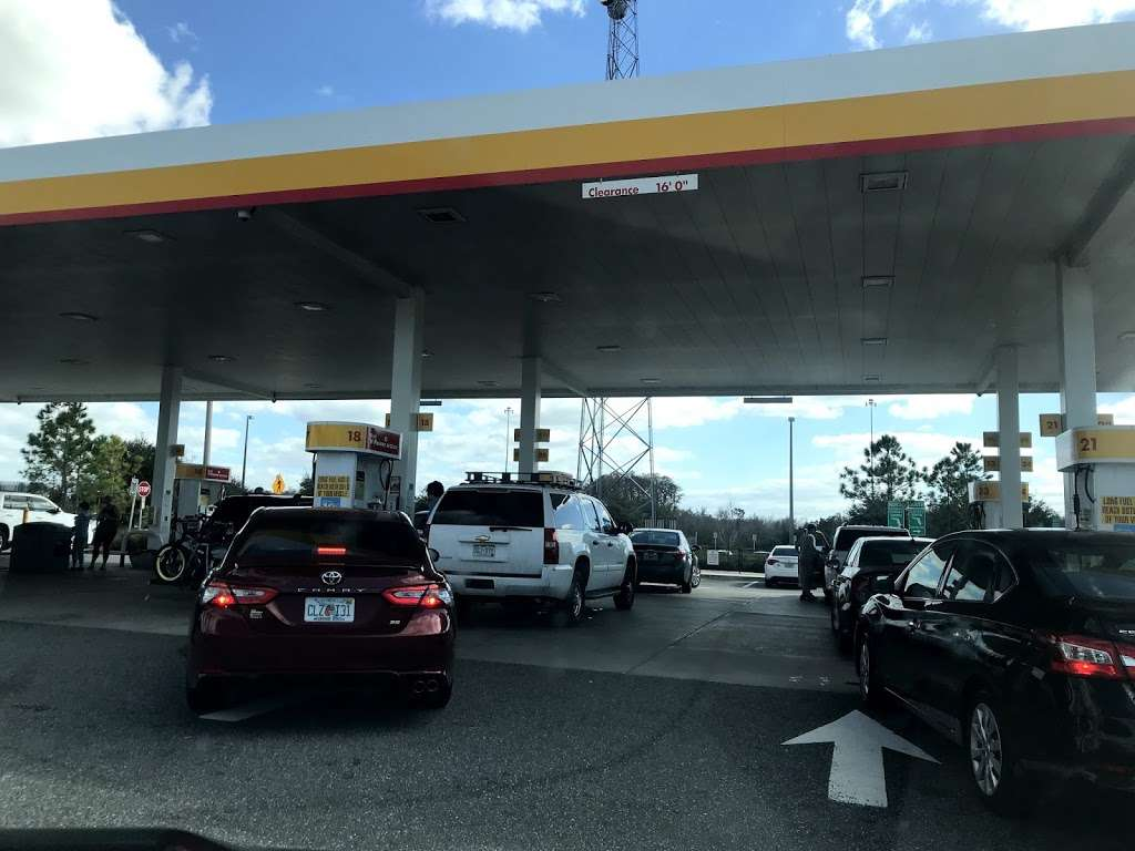 Shell - gas station  | Photo 2 of 10 | Address: Floridas Turnpike Mile Marker 229, St Cloud, FL 34772, USA | Phone: (407) 892-8081