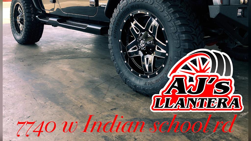 AJs Llantera - car repair  | Photo 2 of 10 | Address: 7740 W Indian School Rd suite 1, Phoenix, AZ 85033, USA | Phone: (623) 332-9063