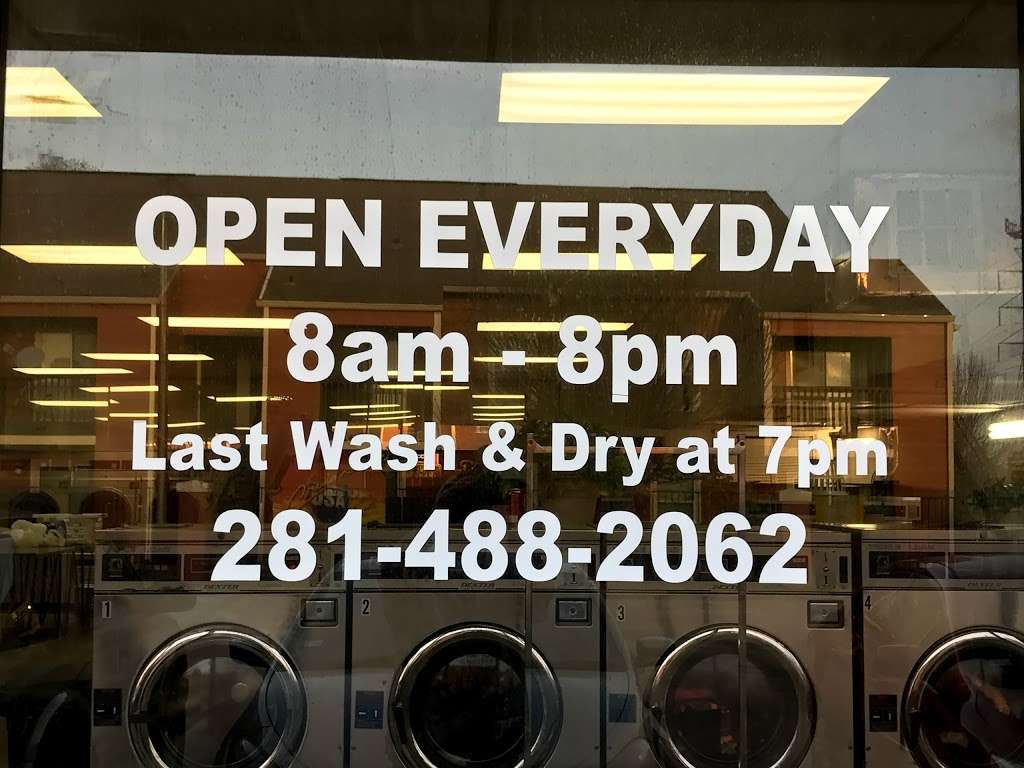 Clean Team Washateria - laundry    Photo 5 of 5   Address: 501 1/2, El Dorado Blvd B, Webster, TX 77598, USA   Phone: (281) 488-2062