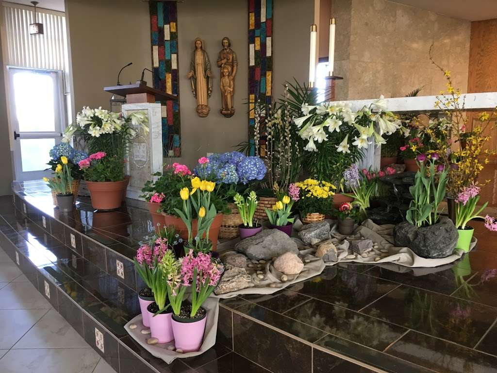 Divine Savior Catholic Church - church  | Photo 10 of 10 | Address: 7740 W Montrose Ave, Harwood Heights, IL 60706, USA | Phone: (708) 456-9000