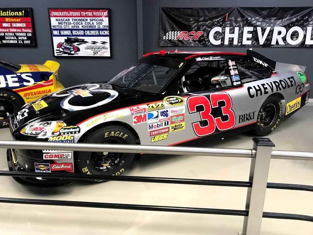 Richard Childress Racing - museum    Photo 5 of 6   Address: 425 Industrial Dr, Lexington, NC 27295, USA   Phone: (336) 731-3334