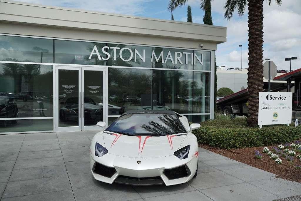 Aston Martin Orlando 4249 Millenia Blvd Orlando Fl 32839 Usa