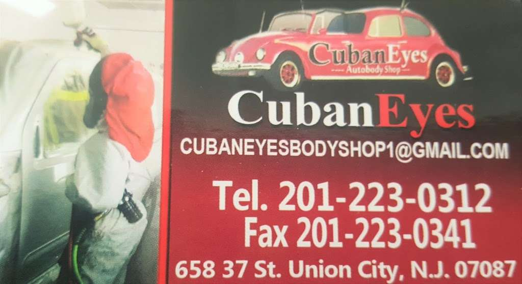 Cuban Eyes Auto Body Shop - car repair  | Photo 1 of 10 | Address: 658 37th St, Union City, NJ 07087, USA | Phone: (201) 223-0312