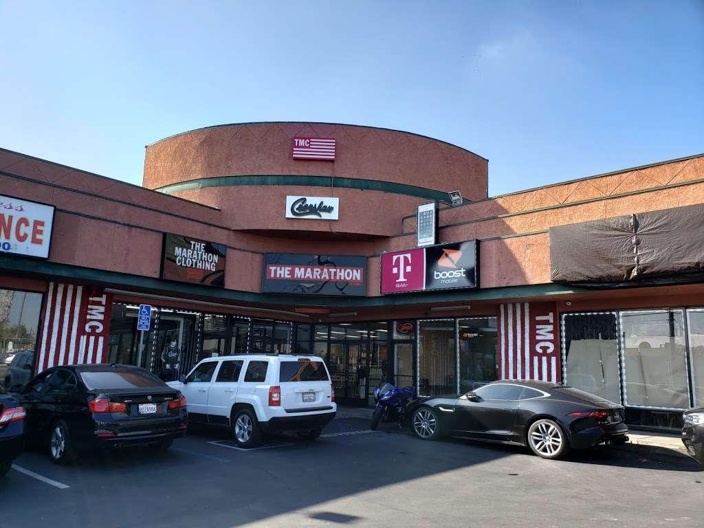 THE MARATHON CLOTHING - clothing store  | Photo 3 of 10 | Address: 3420 W Slauson Ave F, Los Angeles, CA 90043, USA | Phone: (323) 815-4959