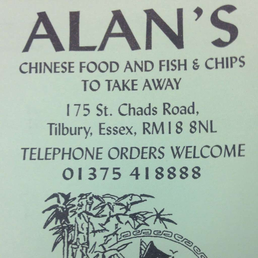 Alans Chinese Food And Fish And Chips - meal takeaway  | Photo 4 of 8 | Address: 175 St. Chads Rd, Tilbury RM18 8NL, UK | Phone: 01375 418888