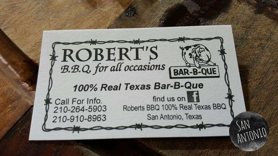Roberts Bbq - restaurant    Photo 6 of 6   Address: Southside, San Antonio, TX 78221, USA   Phone: (210) 264-5903