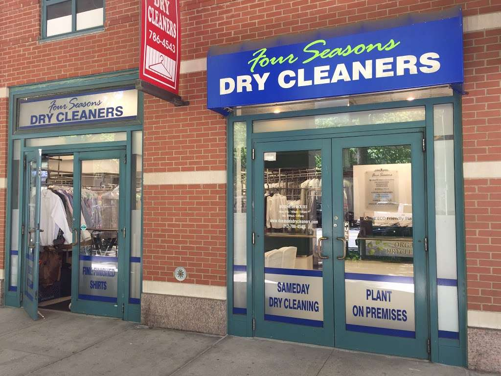 Four Seasons Dry Cleaners - laundry  | Photo 1 of 2 | Address: 21 South End Ave #1, New York, NY 10280, USA | Phone: (212) 786-4543