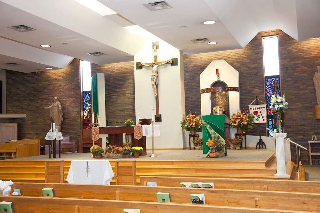 St Damian Catholic Church - church    Photo 1 of 10   Address: 5250 155th St, Oak Forest, IL 60452, USA   Phone: (708) 687-1370
