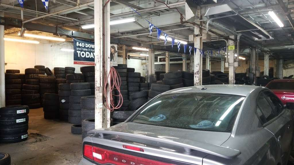 Tire Giants - car repair    Photo 1 of 10   Address: 8301 Torresdale Ave, Philadelphia, PA 19136, USA   Phone: (215) 941-4423