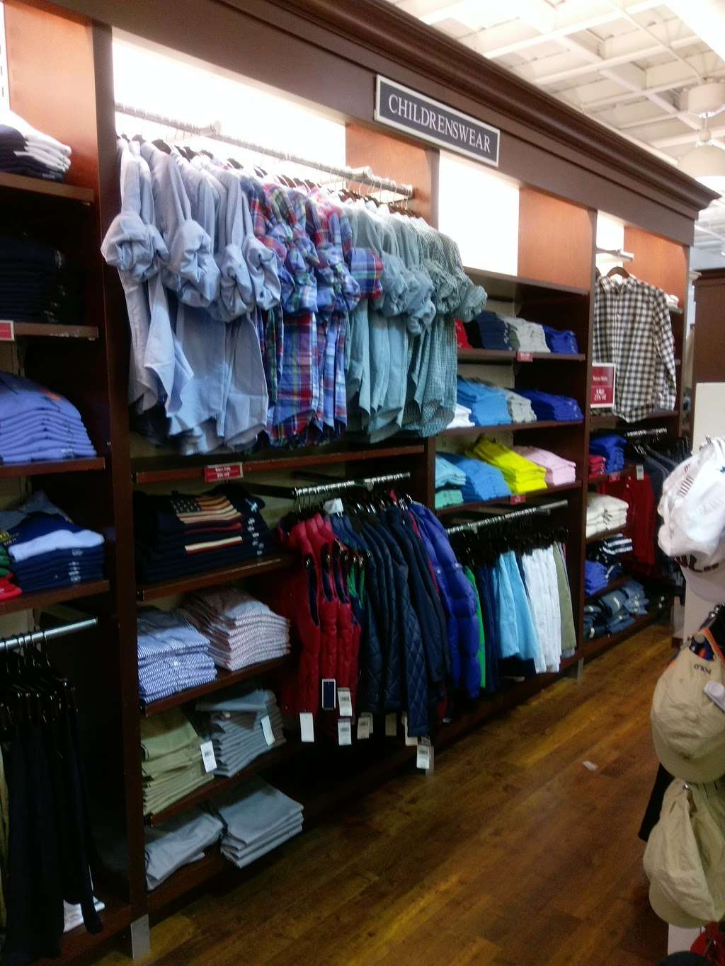 Polo Ralph Lauren Factory Store - clothing store    Photo 7 of 10   Address: 203 Outlet Center Dr, Queenstown, MD 21658, USA   Phone: (410) 827-5039