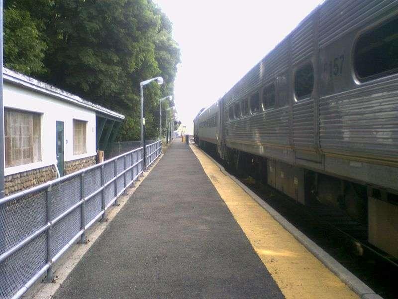 Ho-Ho-Kus Station - train station  | Photo 10 of 10 | Address: Brookside Ave & 1st St, Ho-Ho-Kus, NJ 07423, USA
