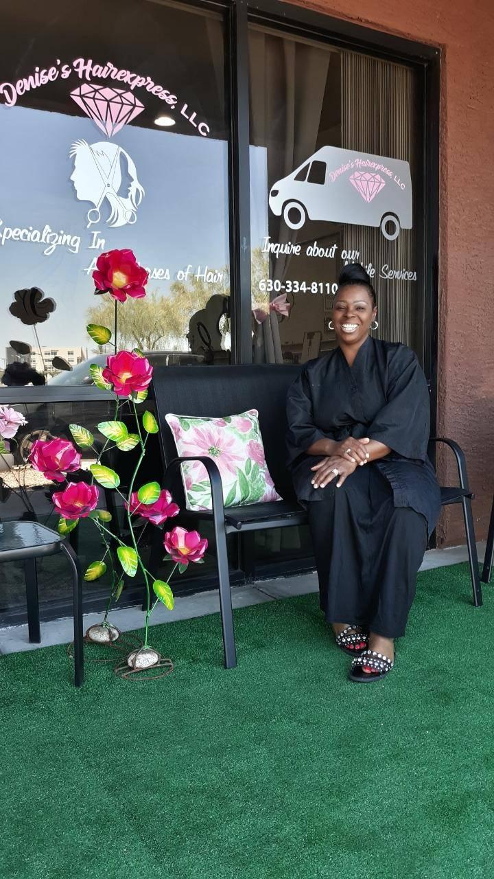 Denise's Hairexpress, LLC - hair care    Photo 2 of 4   Address: Glendale, AZ 85305, USA   Phone: (773) 551-8063