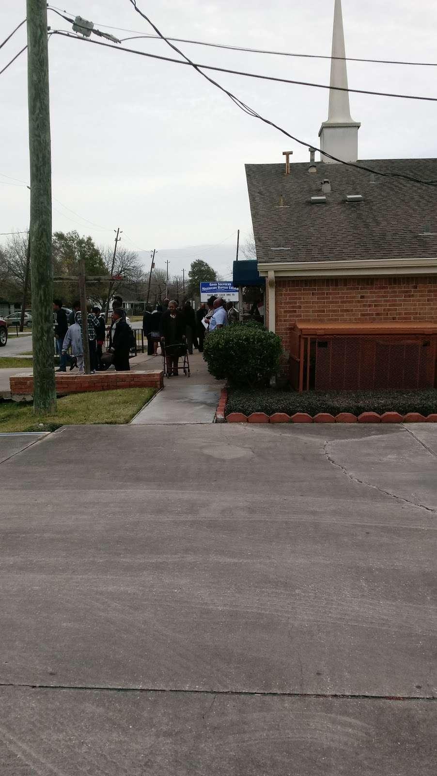 Good Shepherd Baptist Church - church  | Photo 3 of 4 | Address: 7818 Bonaire St, Houston, TX 77028, USA | Phone: (713) 672-9847