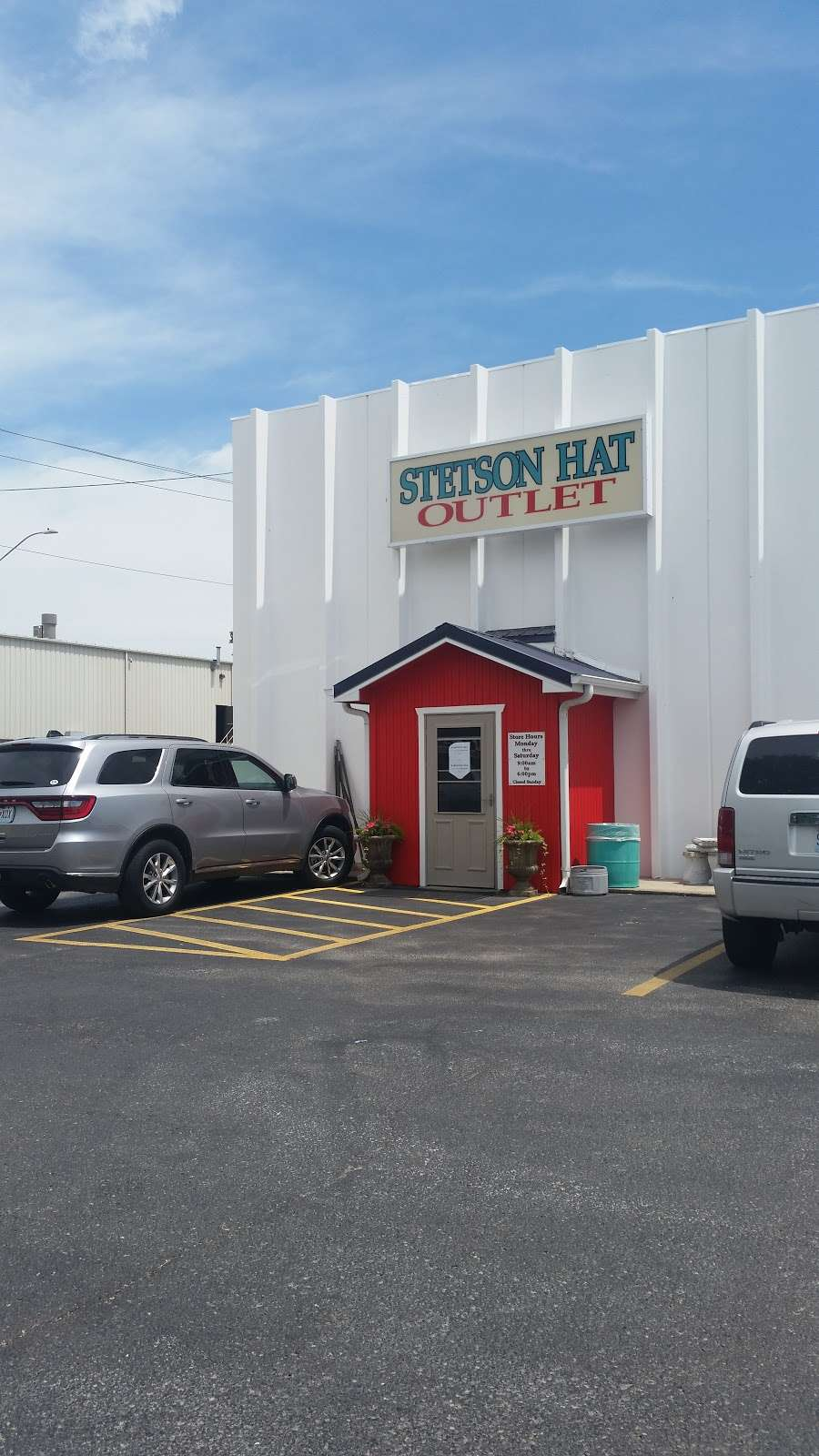 Stetson Hat Co Outlet Store - clothing store    Photo 8 of 10   Address: 3601 S Leonard Rd, St Joseph, MO 64503, USA   Phone: (816) 233-3286