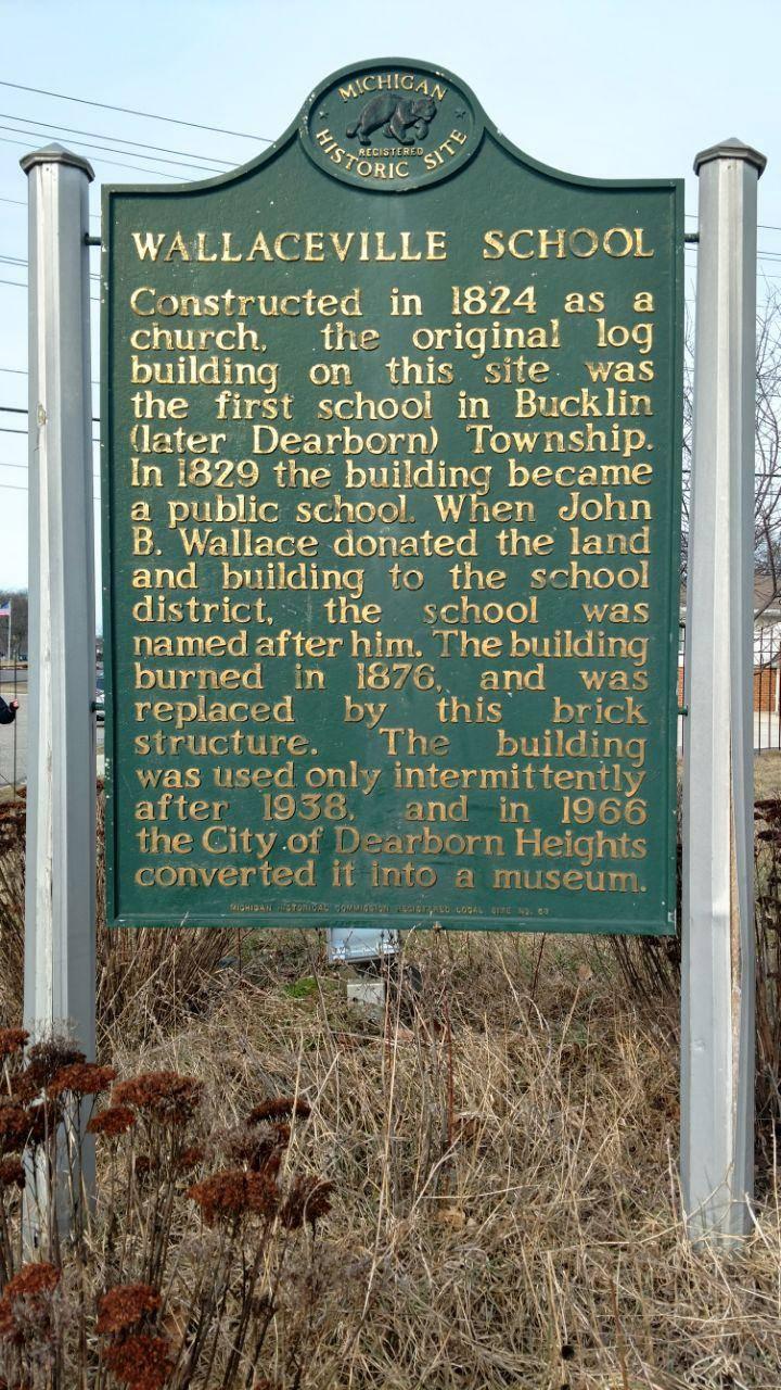 Wallaceville School - museum  | Photo 8 of 8 | Address: 8000 Kinmore St, Dearborn Heights, MI 48127, USA | Phone: (313) 791-3600