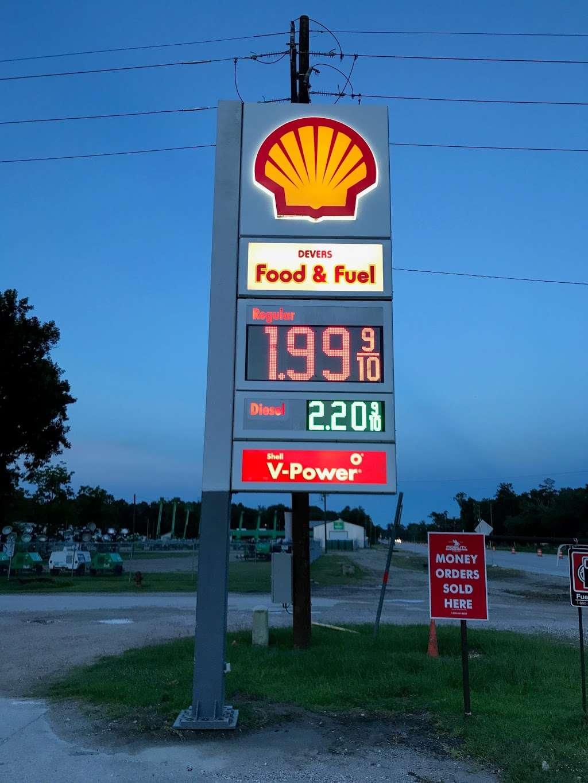 Shell - gas station  | Photo 2 of 3 | Address: 107 US-90, Devers, TX 77538, USA | Phone: (972) 444-1000