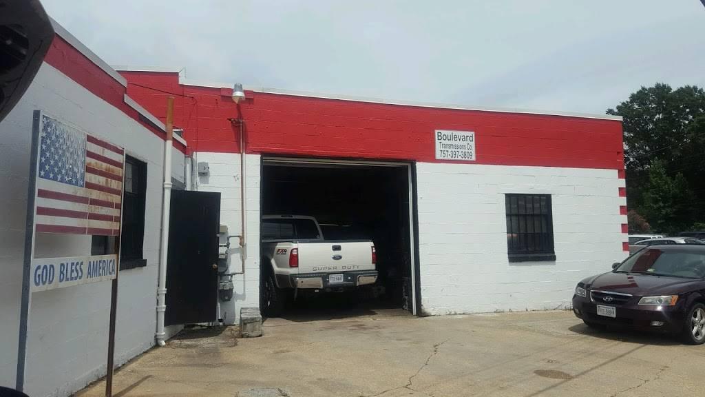 Boulevard Transmissions Co - car repair  | Photo 1 of 3 | Address: 1411 Airline Blvd, Portsmouth, VA 23707, USA | Phone: (757) 397-3809