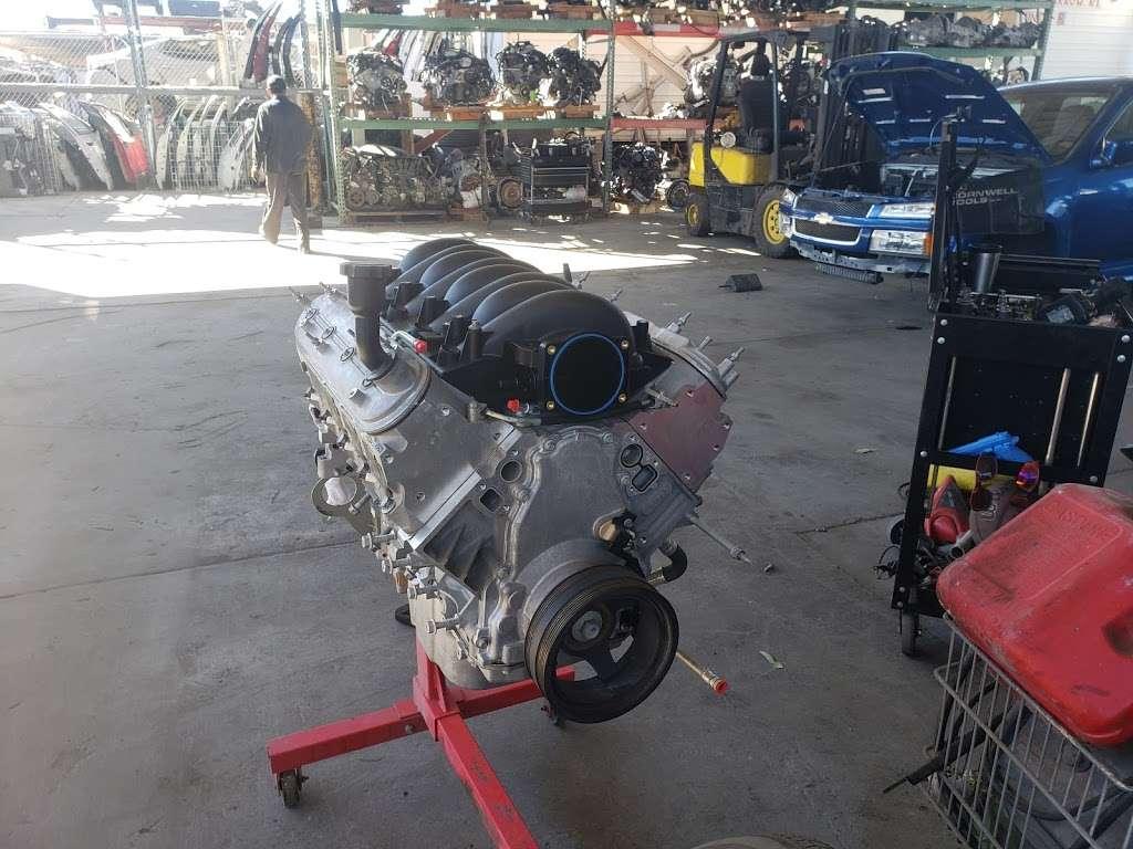 SRT AUTO WRECKING - car repair  | Photo 7 of 10 | Address: 15614 Arrow Route unit b, Fontana, CA 92335, USA | Phone: (909) 346-0004