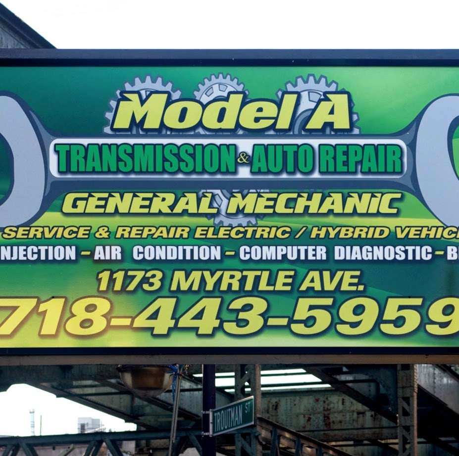 Model A Transmission & Auto Repair - car repair  | Photo 5 of 5 | Address: 1173 Myrtle Ave, Brooklyn, NY 11221, USA | Phone: (718) 443-5959