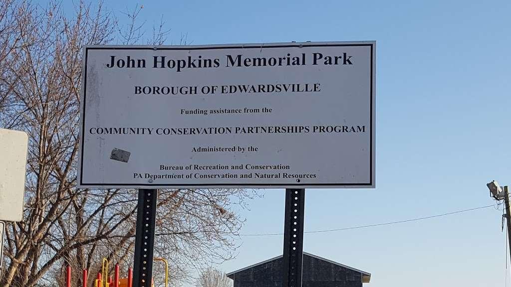 John J. Hopkins Memorial Park - park    Photo 7 of 10   Address: High St, Edwardsville, PA 18704, USA