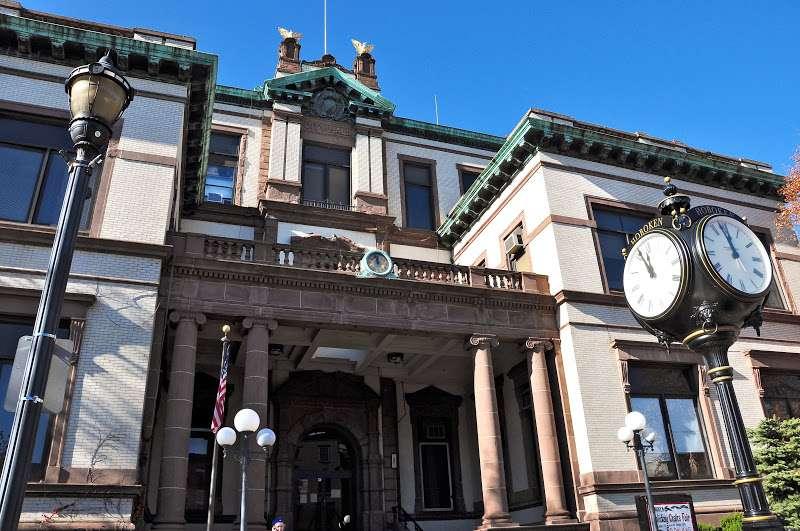 Hoboken City Clerks Office - city hall    Photo 2 of 2   Address: 94 Washington St, Hoboken, NJ 07030, USA   Phone: (201) 420-2230