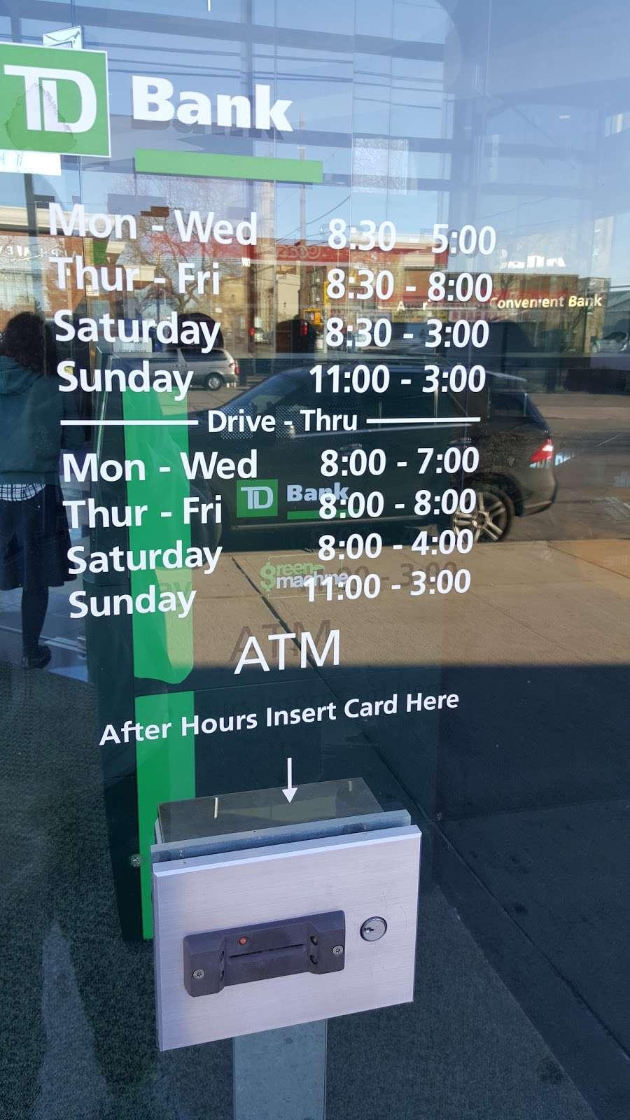 TD Bank - bank    Photo 3 of 5   Address: 1301 65th St, Brooklyn, NY 11219, USA   Phone: (718) 232-0039