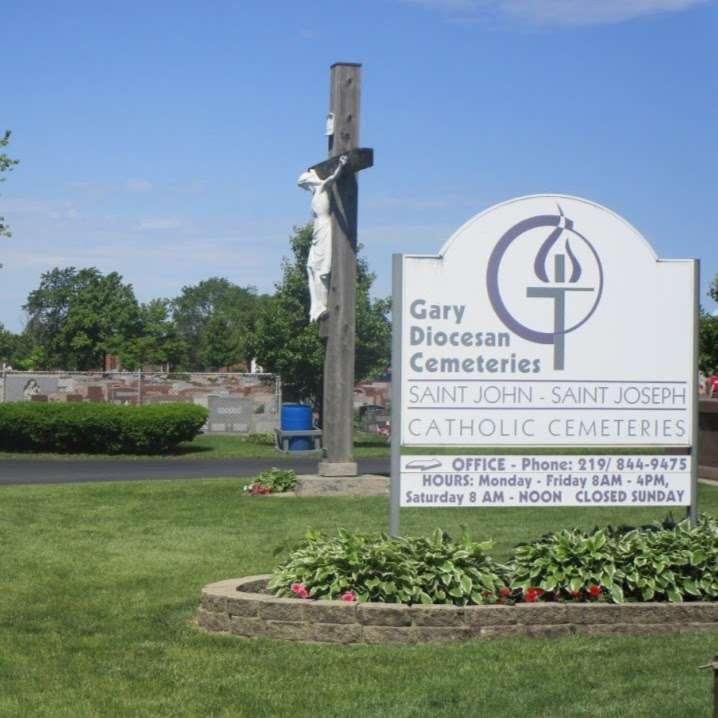 St John/St Joseph Cemetery - cemetery  | Photo 2 of 2 | Address: 1547 167th St, Hammond, IN 46320, USA | Phone: (219) 844-9475