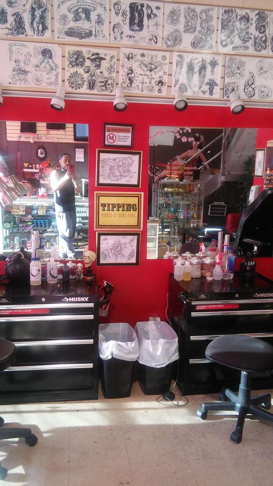 Tattoo Mayhem - store  | Photo 1 of 10 | Address: 1510-A Castle Hill Ave, Bronx, NY 10462, USA | Phone: (347) 621-3514