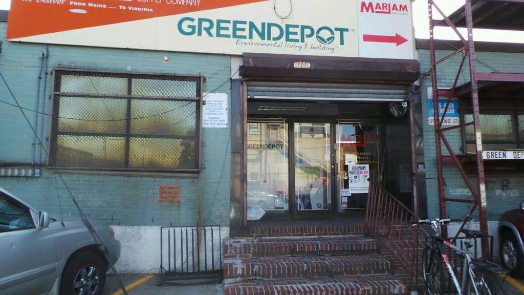 Green Depot - hardware store  | Photo 1 of 2 | Address: 1 Ivy Hill Rd, Brooklyn, NY 11211, USA | Phone: (718) 782-2991