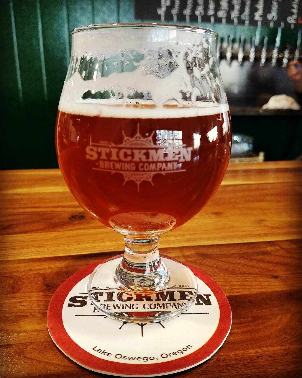 Stickmen Brewing Company (Tualatin Beer Hall) - restaurant  | Photo 2 of 9 | Address: 19475 SW 118th Ave Suite 1, Tualatin, OR 97062, USA | Phone: (503) 486-7197