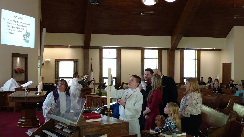 St Johns Evangelical Lutheran Church - church    Photo 2 of 8   Address: 3512 Clinton St, West Seneca, NY 14224, USA   Phone: (716) 668-2152