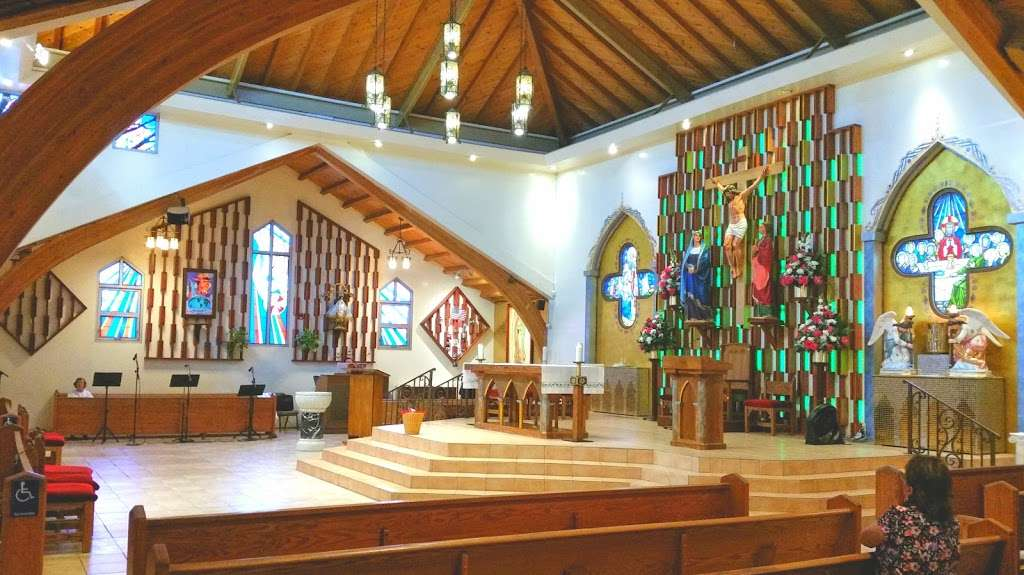 St Francis Xavier Church Catholic Church - church  | Photo 1 of 10 | Address: 4245 Acacia Ave, Pico Rivera, CA 90660, USA | Phone: (562) 699-8527