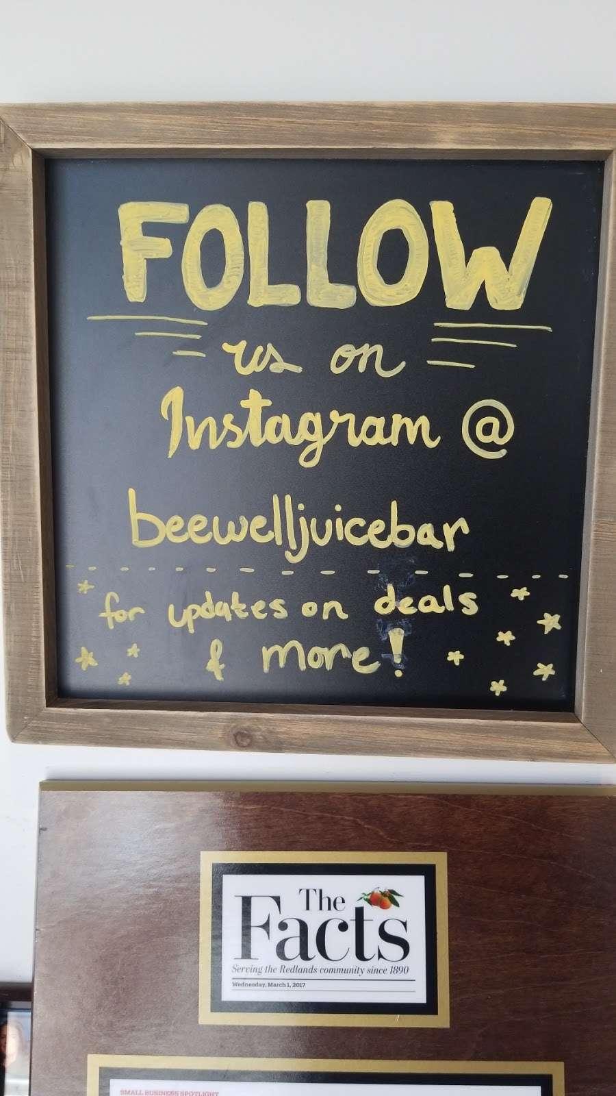 Bee Well Juice Bar & Organic eatery - cafe  | Photo 10 of 10 | Address: 33946 Yucaipa Blvd, Yucaipa, CA 92399, USA | Phone: (909) 790-9097