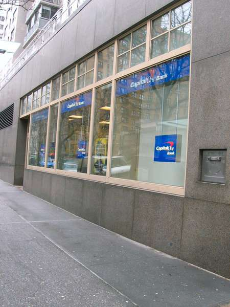 Capital One Bank - bank  | Photo 8 of 10 | Address: 1180 3rd Ave, New York, NY 10065, USA | Phone: (212) 744-6670