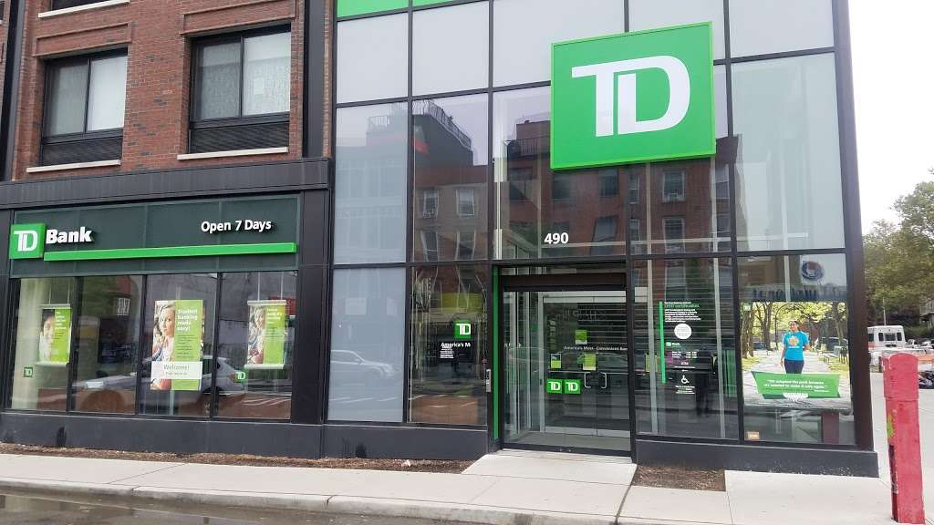 TD Bank | 490 Myrtle Ave, Brooklyn, NY 11205, USA