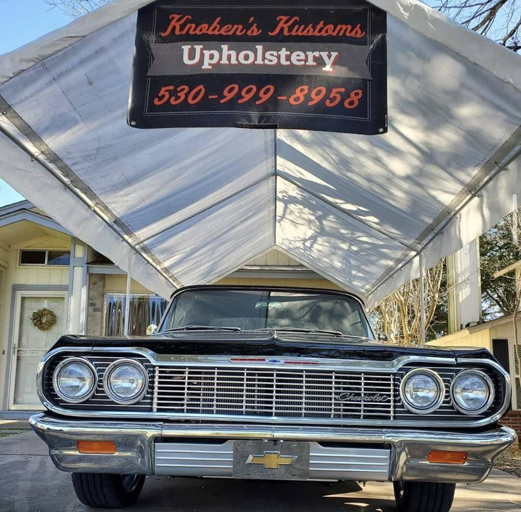 Knobens Kustoms Upholstery - car repair    Photo 1 of 8   Address: 10603 Marias River Dr, Austin, TX 78748, USA   Phone: (530) 999-8958